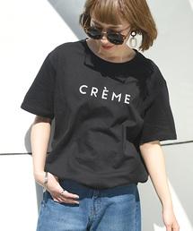 coca(コカ)のゆるシルエットロゴTシャツ(Tシャツ/カットソー)