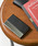 Add+(アッド)の「シンセティックレザー×ステンレス カードケース 名刺入れ(名刺入れ)」|ブラック
