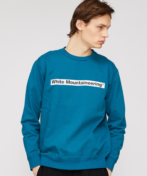 【White Mountaineering】WM LOGO PRINTED SWEATSHIRT