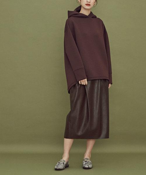 【使い勝手の良い】 ODORANTES/フェイクレザースカート(スカート)|nano nano・universe・universe(ナノユニバース)のファッション通販, 驚きの値段:69ff6c87 --- kredo24.ru