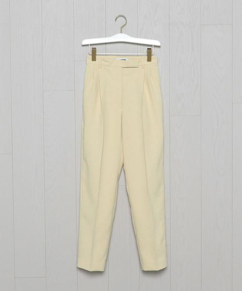 <H>TUCK TROUSERS/パンツ