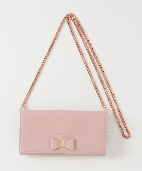 ABRIANA レザーチェーンバッグ(財布)