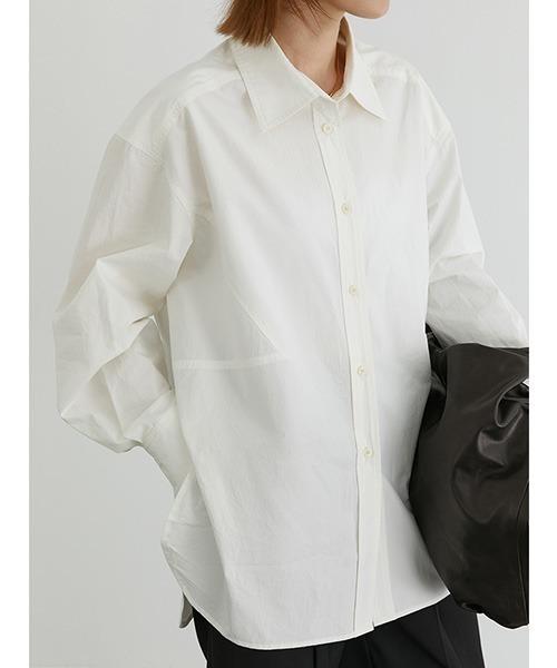【Fano Studios】【2021SS】Oversized cotton shirt FD20S106