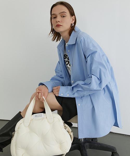 【Fano Studios】【2021SS 先行予約】Oversized cotton shirt FD20S106