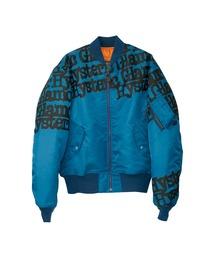 TYPE LOGO MA-1ジャケットターコイズブルー