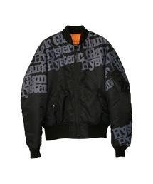 TYPE LOGO MA-1ジャケットブラック