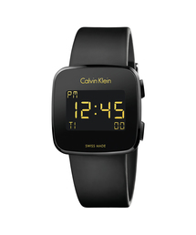 CALVIN KLEIN WATCHES+JEWELRY(カルバン・クライン ウォッチ&ジュエリー)の[カルバンクライン] CALVIN KLEIN 腕時計 Future(フューチャー) デジタル ブラック×ブラック(腕時計)