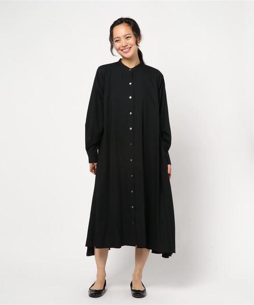 経典 フレアシャツワンピース(シャツワンピース)|mizuiroind(ミズイロインド)のファッション通販, 新町:5dfa6123 --- 5613dcaibao.eu.org