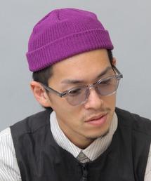 A.M.S.(エーエムエス)の【HIDETRADING PRODUCT】 綿100% コットン ショートワッチ / ニット帽(ニットキャップ/ビーニー)