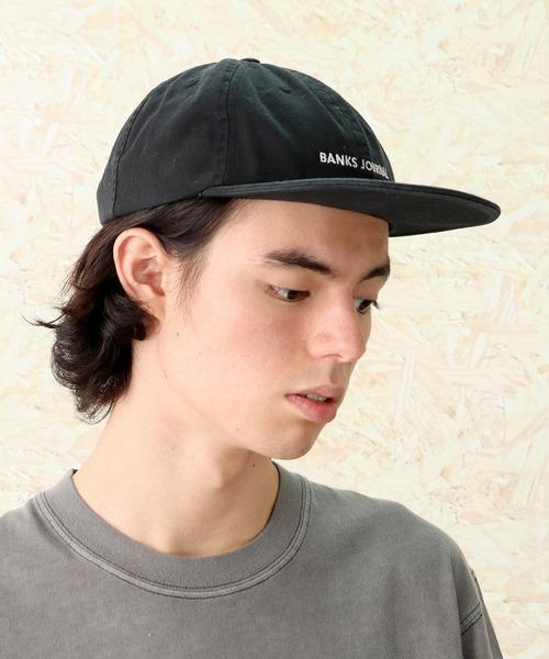 【BANKS JOURNAL/バンクスジャーナル】LABEL HAT HA0115
