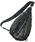 DECADE(ディケイド)の「立体プリントボディワンショルダーバッグDECADE (No-01102) / Solid Graphic Print Canvas Shoulder body Bag(ショルダーバッグ)」|ブラック