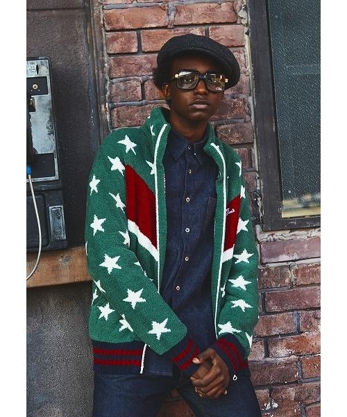 【在庫有】 SHAGGY BOA STAR ZIP ZIP STAR UP JACKET(ニット UP/セーター)|TMT(ティーエムティー)のファッション通販, ADone アドワン:6cb4bdf6 --- wm2018-infos.de