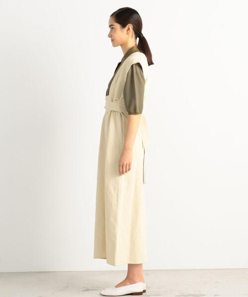 BACCA(バッカ)の「【WEB先行予約】コットンメタル エプロンワンピース(ワンピース)」|詳細画像