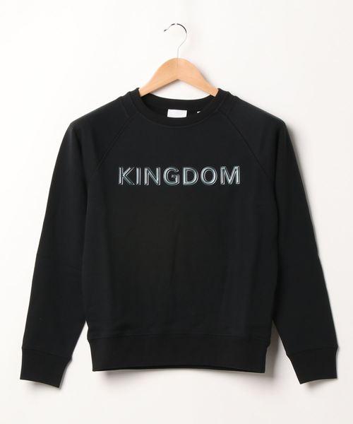 Narcissus(ナルシス)の「【BURBERRY KIDS】ロゴスウェット'KINGDOM'(Tシャツ/カットソー)」|ブラック