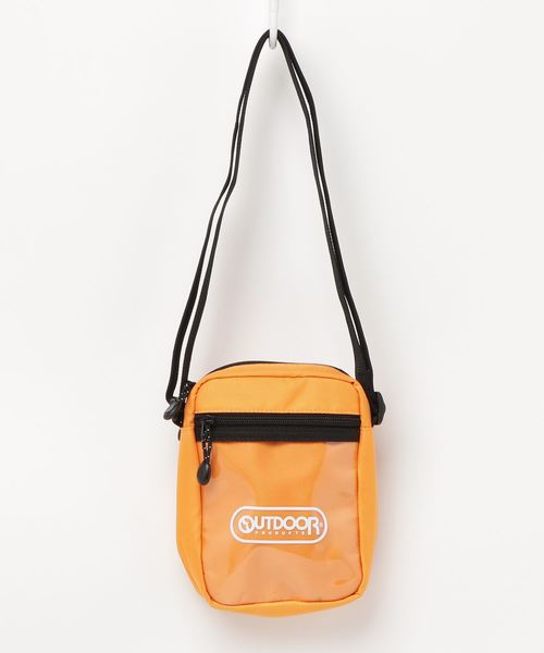 【OUTDOOR PRODUCTS】フロントクリアミニショルダーバッグ