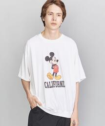 <VOTE MAKE NEW CLOTHES(ヴォート メイク ニュー クローズ)> MICKEY BIG TEE/Tシャツ
