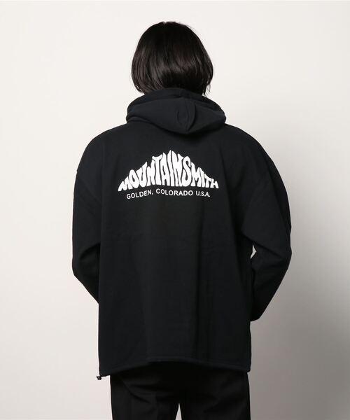 【 MOUNTAIN SMITH / マウンテンスミス 】顔料染め パーカー フーディ