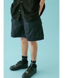 <monkey time> C/R STAIN ST CARGO SHORT PANTS/カーゴパンツ