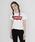 Levi's(リーバイス)の「バットウィングロゴTシャツ (レディースモデル)(Tシャツ/カットソー)」|オフホワイト