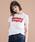 Levi's(リーバイス)の「バットウィングロゴTシャツ (レディースモデル)(Tシャツ/カットソー)」|詳細画像