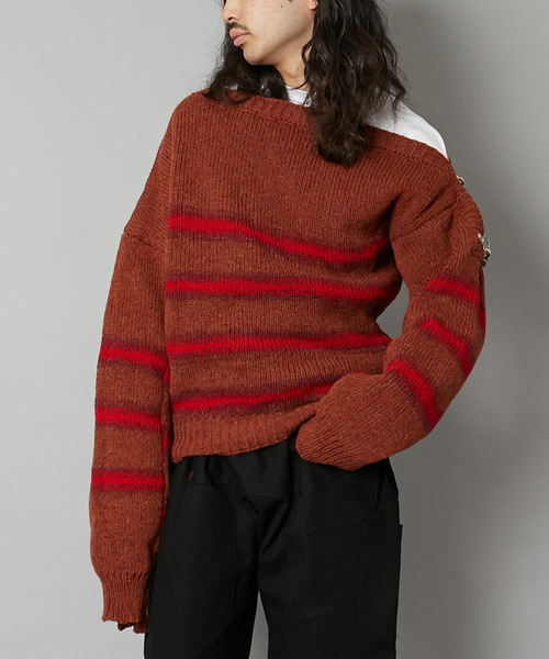 RAF SIMONS ラフ シモンズ / BOATNECK SWEATER