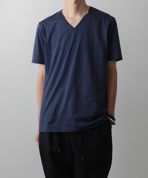 60/2T-CLOTH V-NECK T-SHIRT