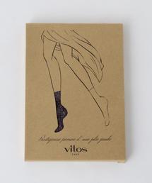 <VITOS(ヴィトス)>SPRK HEART ソックス ◆
