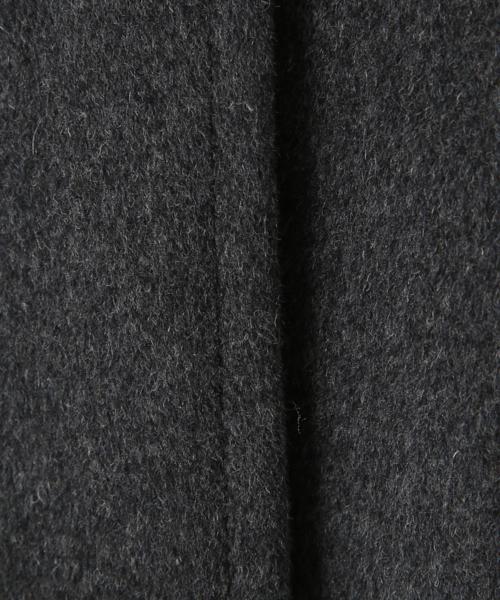 AZUL ENCANTO(アズールエンカント)の「【フード取り外し可能】【2WAY】【静電気 軽減効果】ウールブレンド ショートコート(その他アウター)」|詳細画像