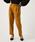 AZUL BY MOUSSY(アズールバイマウジー)の「Warm タック テーパードパンツ(パンツ)」|イエロー系その他