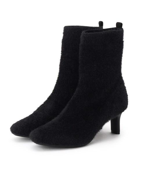 大注目 スクエアトウソックスブーツ(ブーツ)|INDIVI(インディヴィ)のファッション通販, ナチュラルリビング ママ*ベビー:0ab8cd94 --- ulasuga-guggen.de