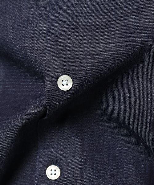 ノーカラーL/Sシャツ [ MADE IN TOKYO ]