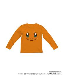 ポケモンフェイス Long Sleeve Tshirt(Tシャツ/カットソー)
