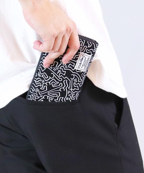 【Keith Haring/キースヘリング】 ロングウォレット WA1801/1803 DYS