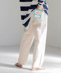 【WEB限定サイズ】コットンリネンシェフパンツ#''CHEF PANTS''