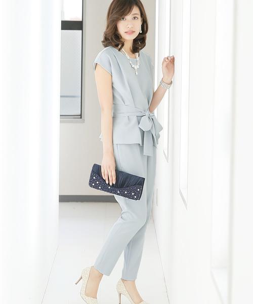 『3年保証』 4WAYシンプルパンツドレスセットアップ・パーティードレス(ドレス)|PourVous(プールヴー)のファッション通販, 六郷町:aa310877 --- tsuburaya.azurewebsites.net