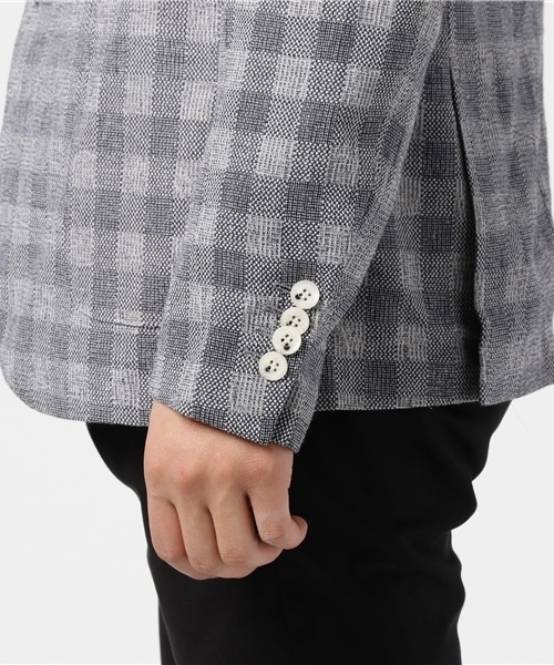 PEARLY KING/パーリー キング/check jacket