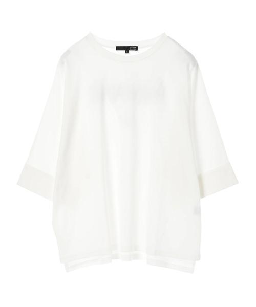 ・バックロゴptドルマンTシャツ
