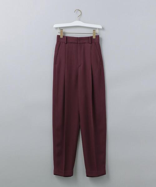 <6(ROKU)>TWILL TUCK PANTS/パンツ