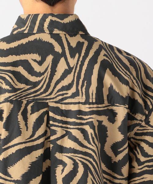 TOMORROWLAND(トゥモローランド)の「Ganni コットン ゼブラプリントラップシャツ(シャツ/ブラウス)」|詳細画像