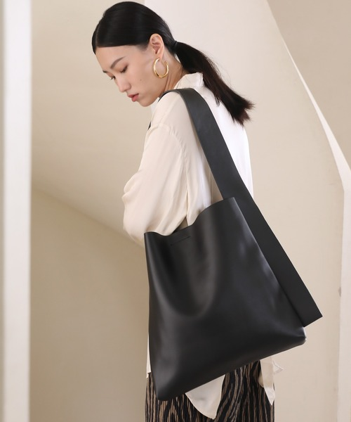 【chuclla】Wide shoulder tote bag cha188