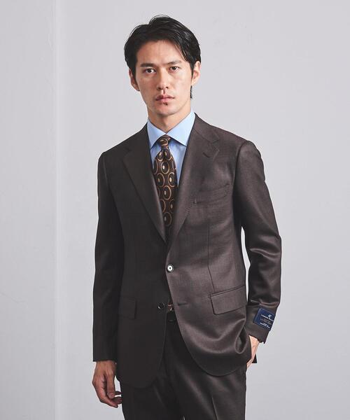 <UNITED ARROWS> LAS グレンチェック 3B スーツ R-MODEL