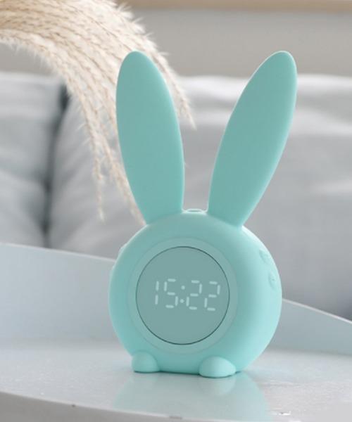 おしゃれかわいいうさぎ目覚まし時計