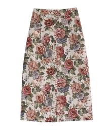 ゴブランロングタイトスカート(スカート)