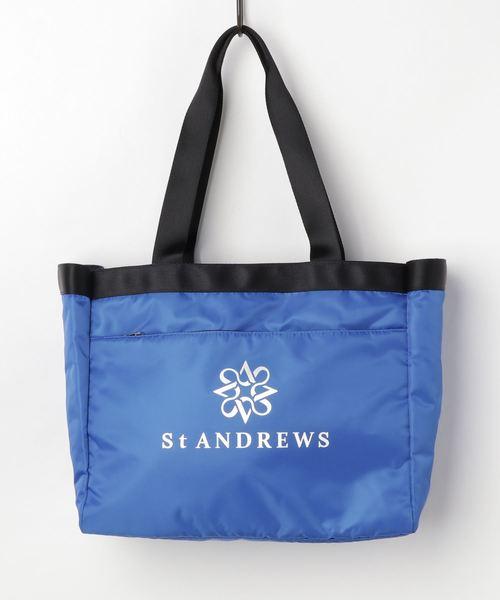 St ANDREWS(セントアンドリュース)の「【St ANDREWS】トートバッグ (UNISEX)(トートバッグ)」|ブルー