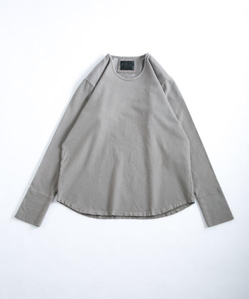 (お得な特別割引価格) Uネック長袖 -ブラッシュドソフト天竺 -(Tシャツ/カットソー) OURET(オーレット)のファッション通販, ももたろうのしっぽ:c63fbffb --- rise-of-the-knights.de