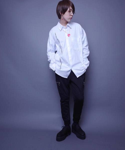 AFYF RABBIT LONG SHIRT F/ラビットロングシャツ