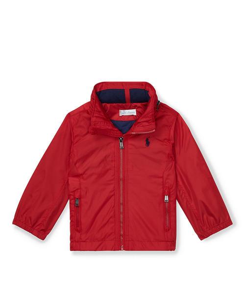 19d927bb6b4bc Polo Ralph Lauren Childrenswear(ポロ キッズ)のフーデッド ウィンドブレーカー(その他アウター)