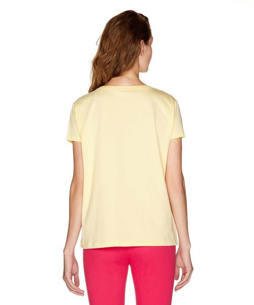 コットンプリント半袖Tシャツ・カットソー