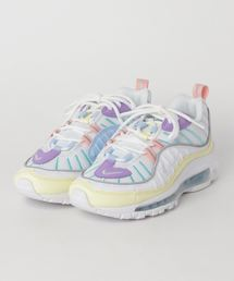 NIKE(ナイキ)のNIKE W AIR MAX 98 (LUMINOUS GREEN/WHITE-ATOMIC VIOLET) 【SP】(スニーカー)