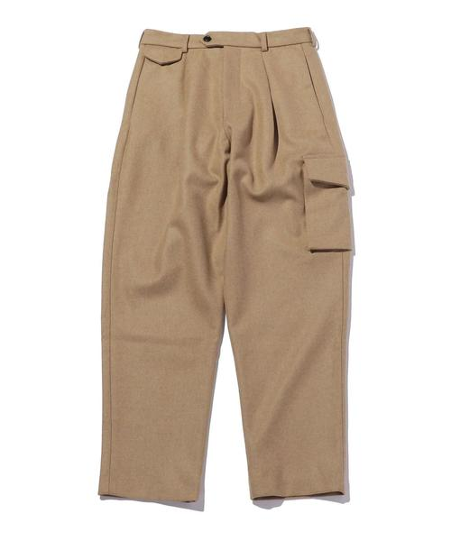 <LOWNN> RELAXED TROUSERS/トラウザー
